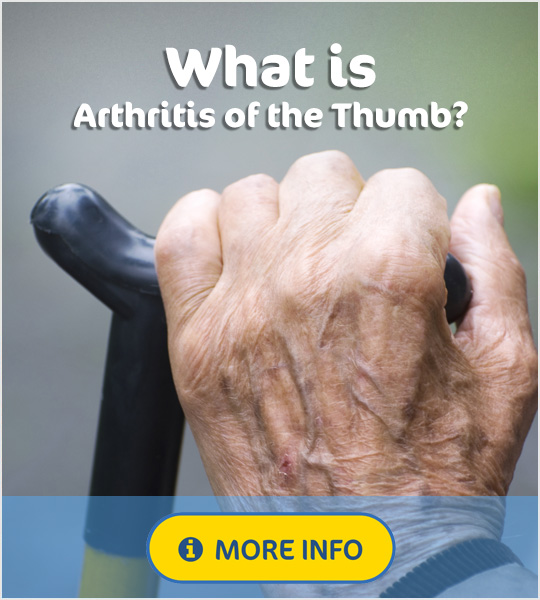 What is arthritis of the Thumb