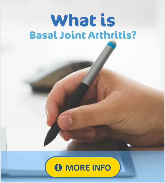 What is basal joint arthritis of the thumb