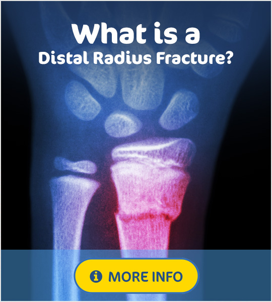 What is a distal radius fracture
