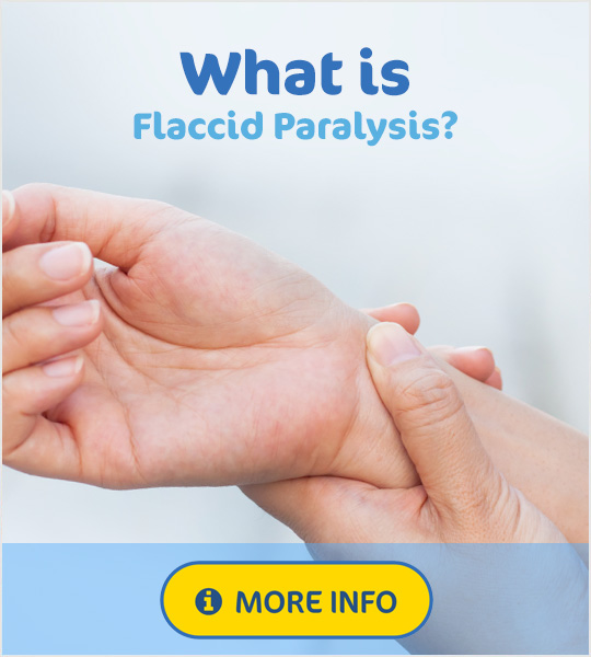 What is flaccid paralysis?