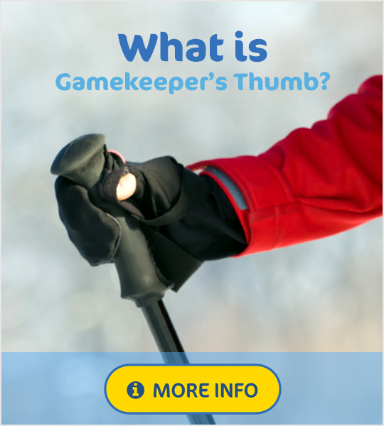 what is gamekeepers thumb
