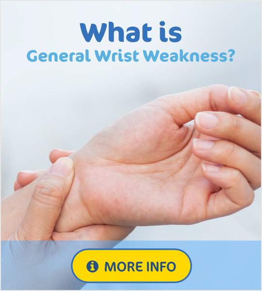 General wrist weakness
