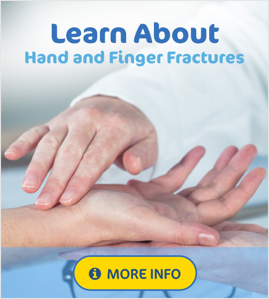 Best supports for hand and finger fractures