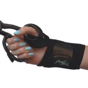 The 4Dflexisport® Active Black Wrist Support offers breathability and flexion control