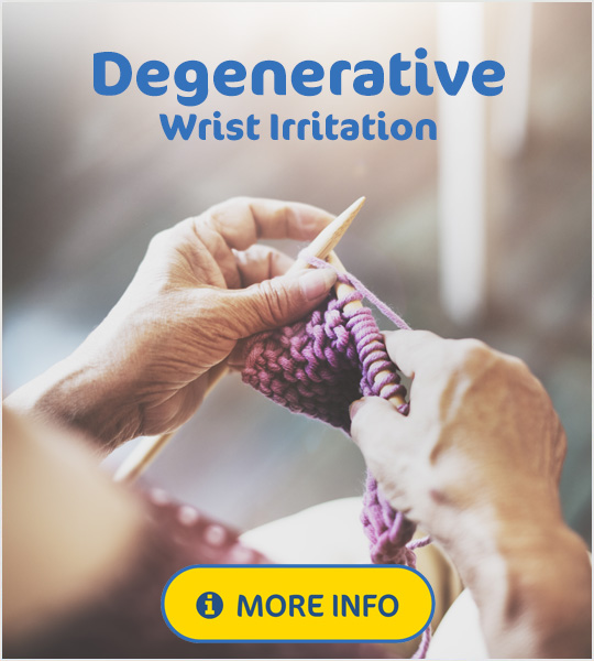 Degenerative Wrist Irritation