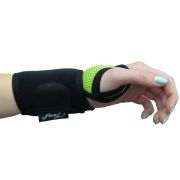 The 4Dflexisport® Active Lime Wrist Support offers ambidextrous support, optimal finger movement and flexion
