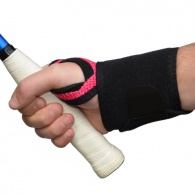 4Dflexisport® Active Raspberry Wrist Support